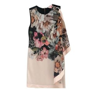 Ted Baker Sew in Love floral dress US 4
